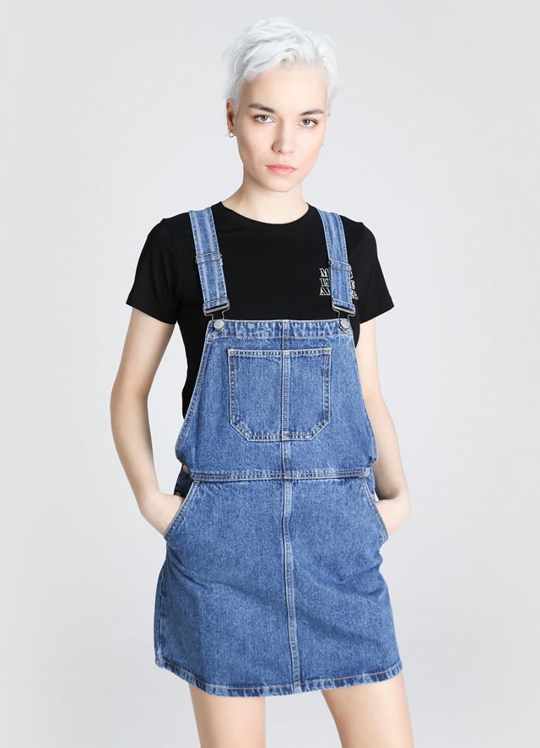 джинсовая одежда сарафан