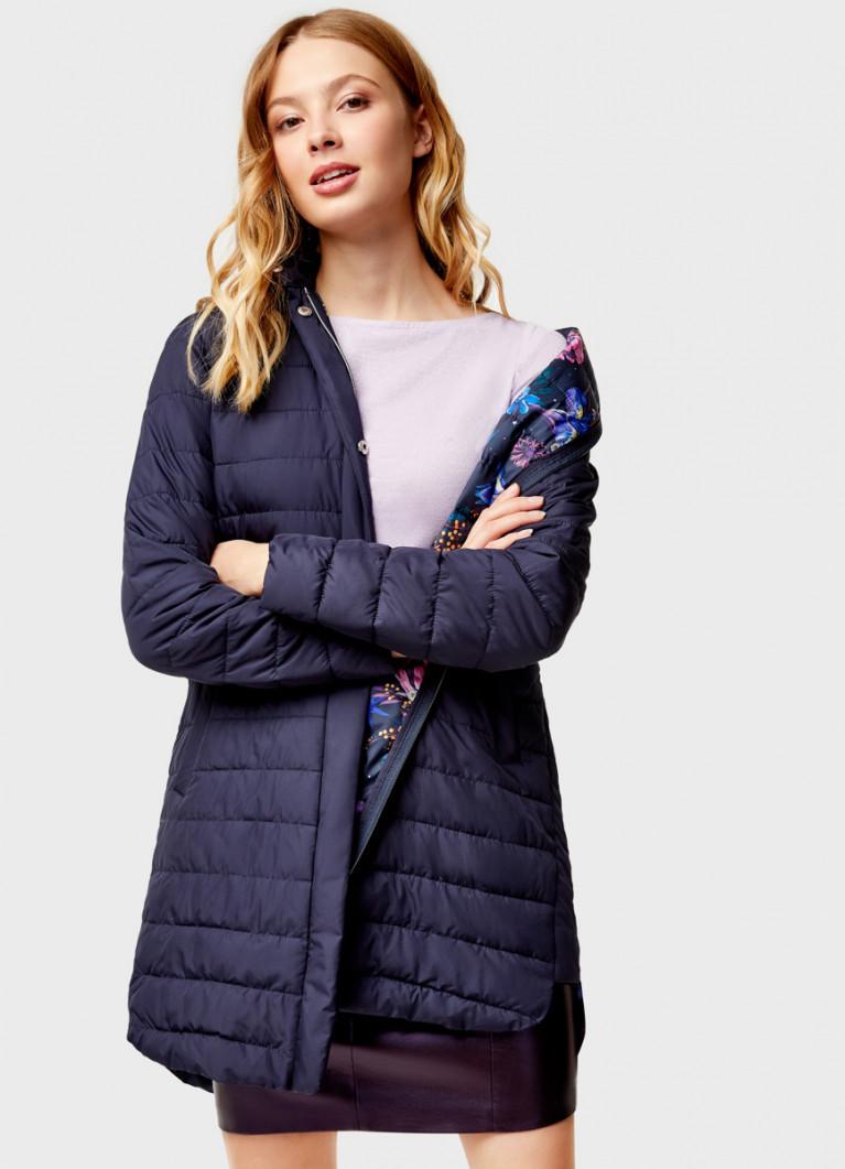 Ультралёгкая куртка с удлинённой спинкой