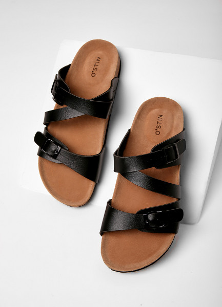 Фото - Сандалии с двойным верхом сандалии jana сандалии