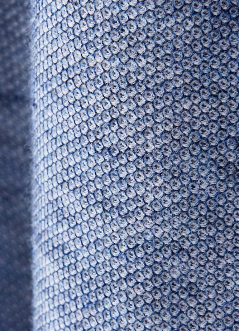 Поло из структурного полотна