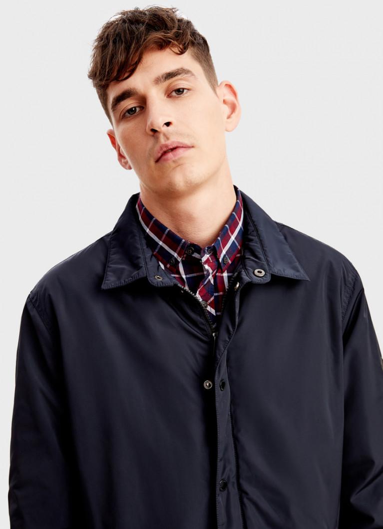 Утеплённая куртка-рубашка