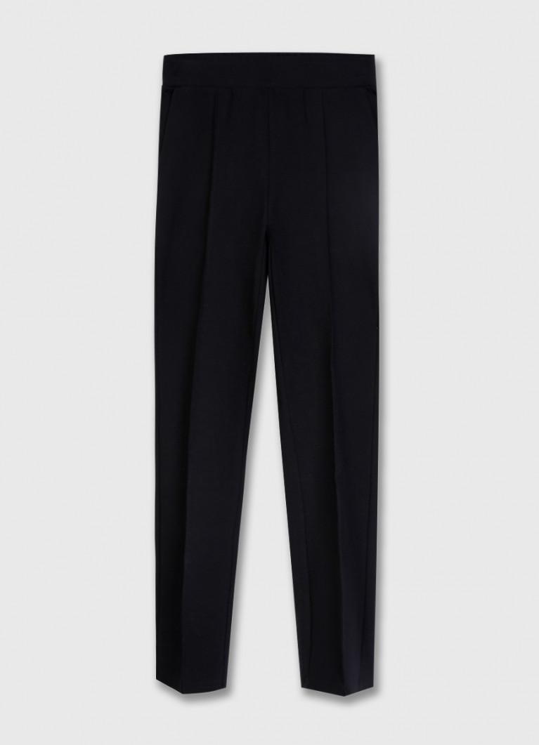 Трикотажные брюки со стрелками