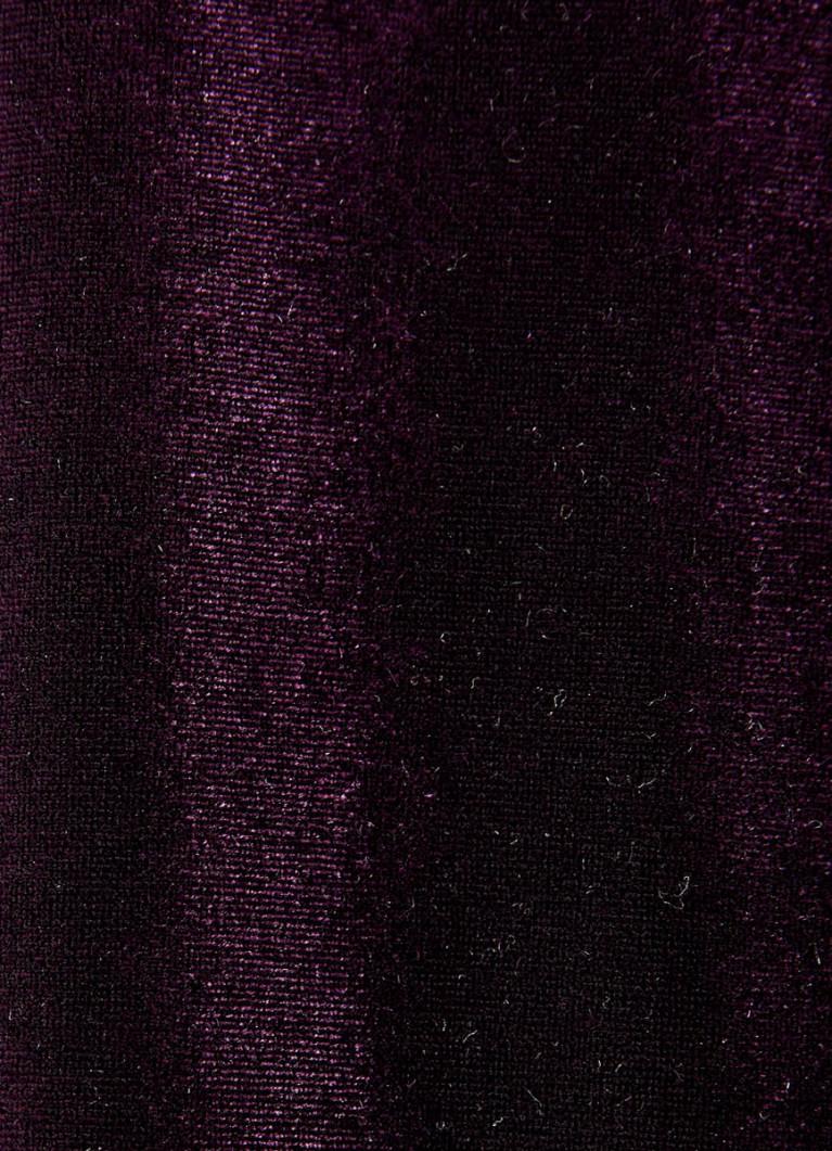 Бархатное платье-труба