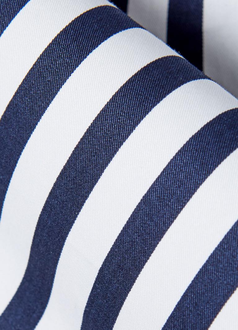 Платье-рубашка в полоску