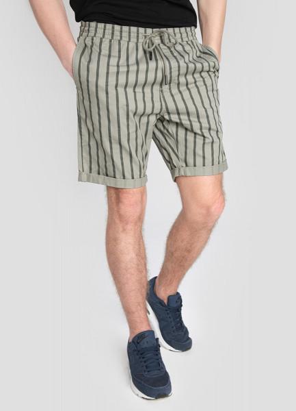 Принтованные базовые шорты из хлопка