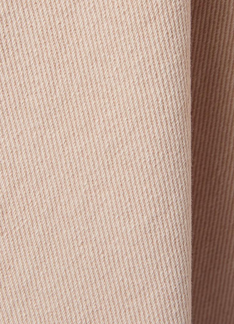 Юбка из денима в розовой стирке