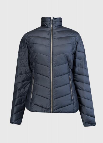 Короткая ультралёгкая куртка с воротником-стойкой