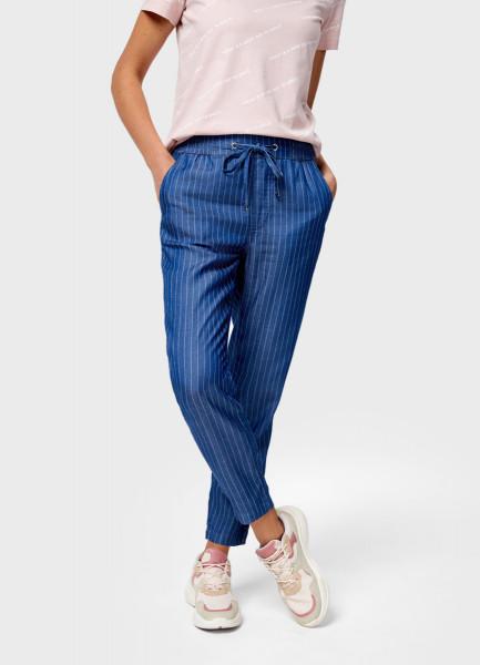 Свободные брюки, Светло-синий