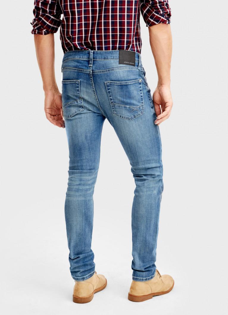 Премиум-джинсы слим