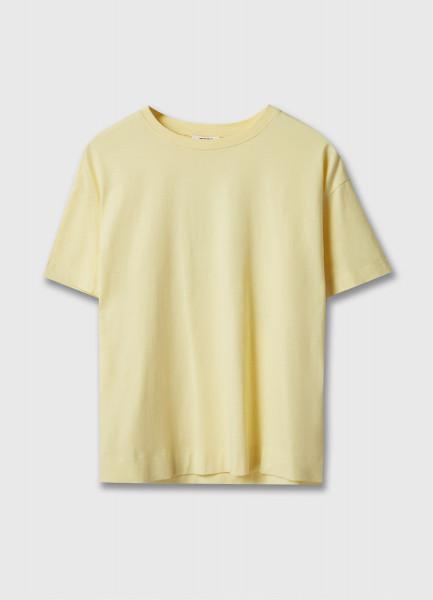 Базовая футболка свободного силуэта