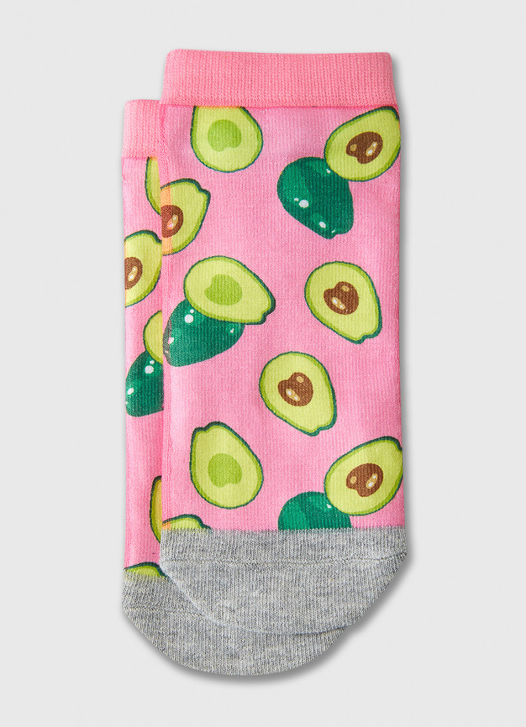 Принтованные короткие носки