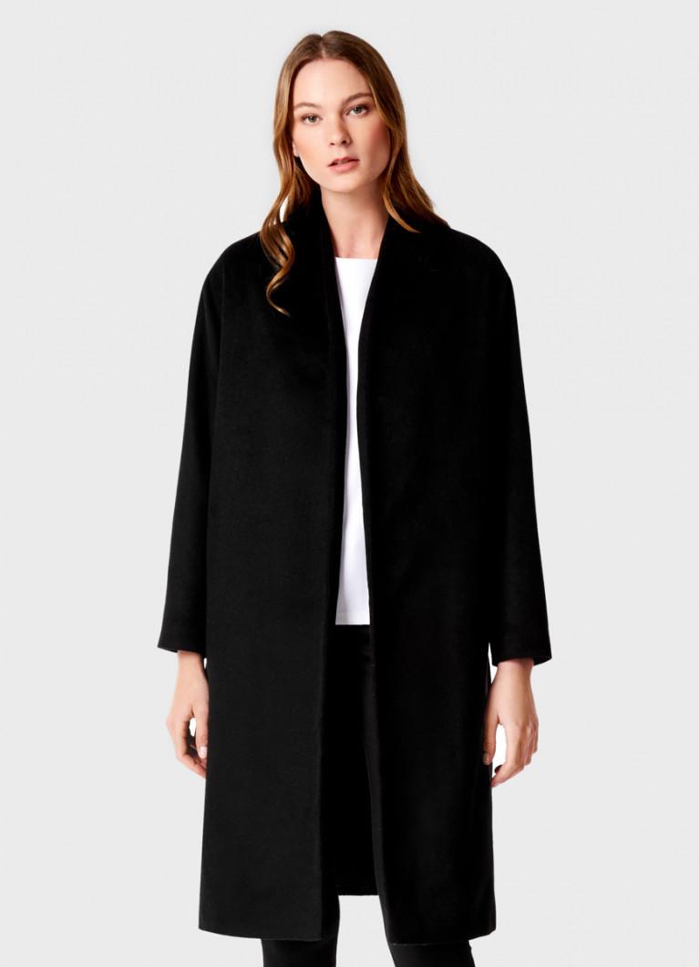 Пальто с содержанием шерсти