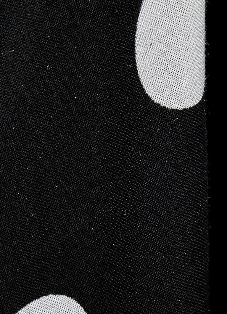 Вискозная блузка в горошек