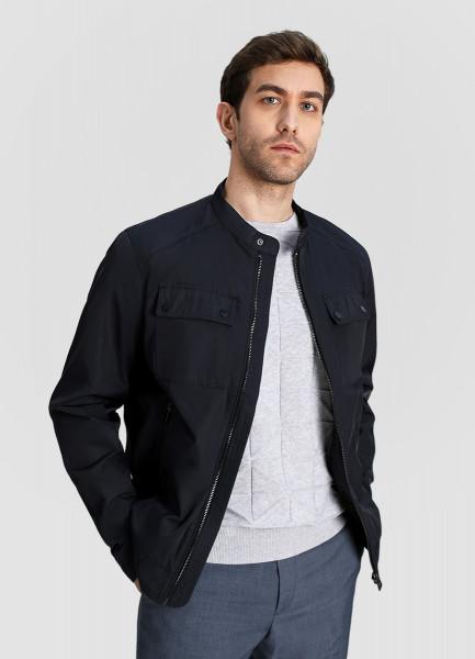 Куртка «4 кармана» с металлическими молниями фото
