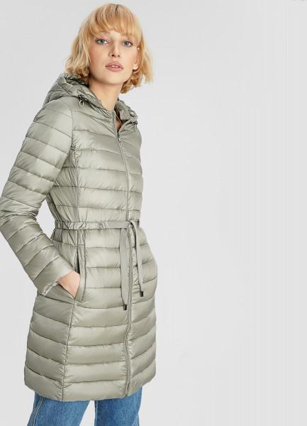 Удлинённая ультралёгкая куртка