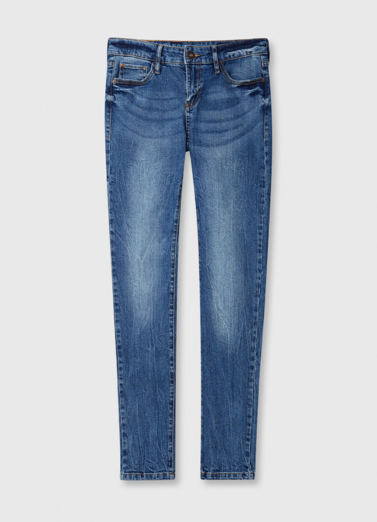 Винтажные суперузкие джинсы