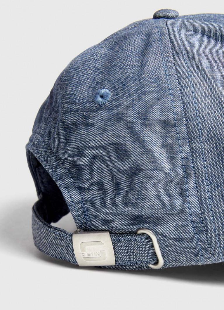 Джинсовая кепка с патчем
