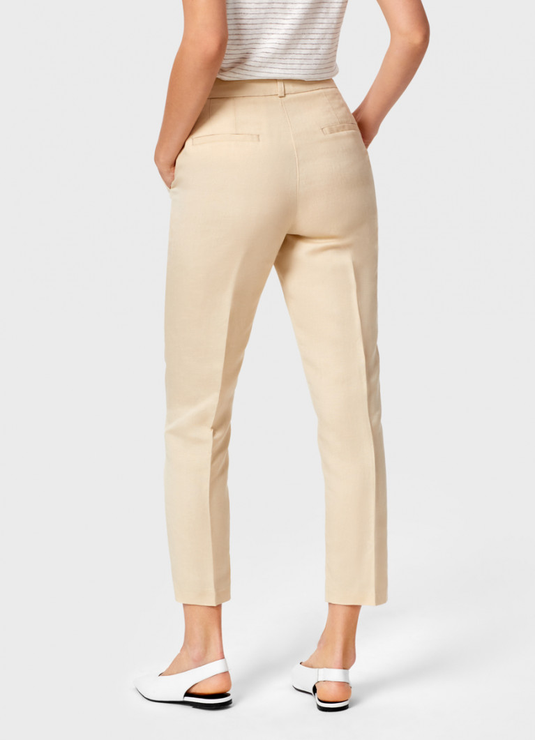 Льняные брюки