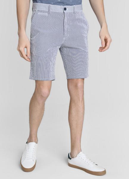 Кроёные шорты с принтом