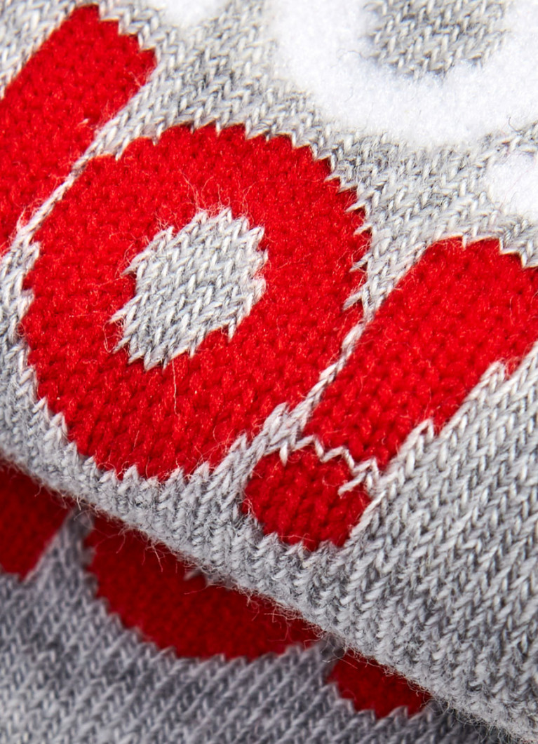 Носки для мальчиков с новогодним жаккардом