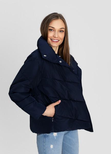 цена Утеплённая куртка с воротником-стойкой онлайн в 2017 году