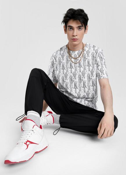 Спортивные брюки из ткани Superstrech