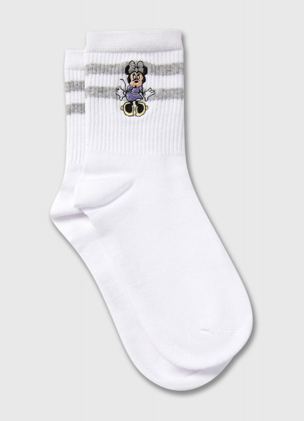 Носки с вышивкой Minnie