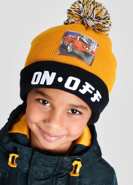 Фото - Вязаная шапка для мальчиков шапка для мальчиков