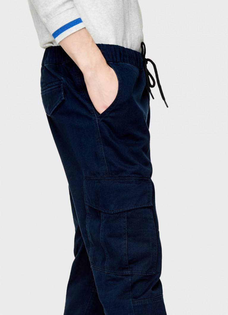 Джоггеры с карманами «карго»