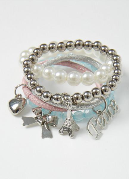 Комплект браслетов для девочек