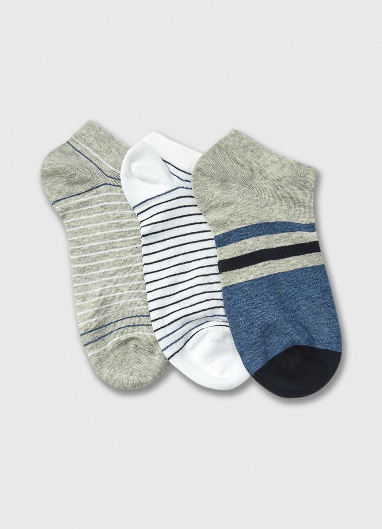 Короткие носки с полосками