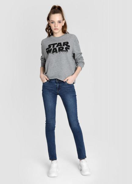 Базовые узкие джинсы фото