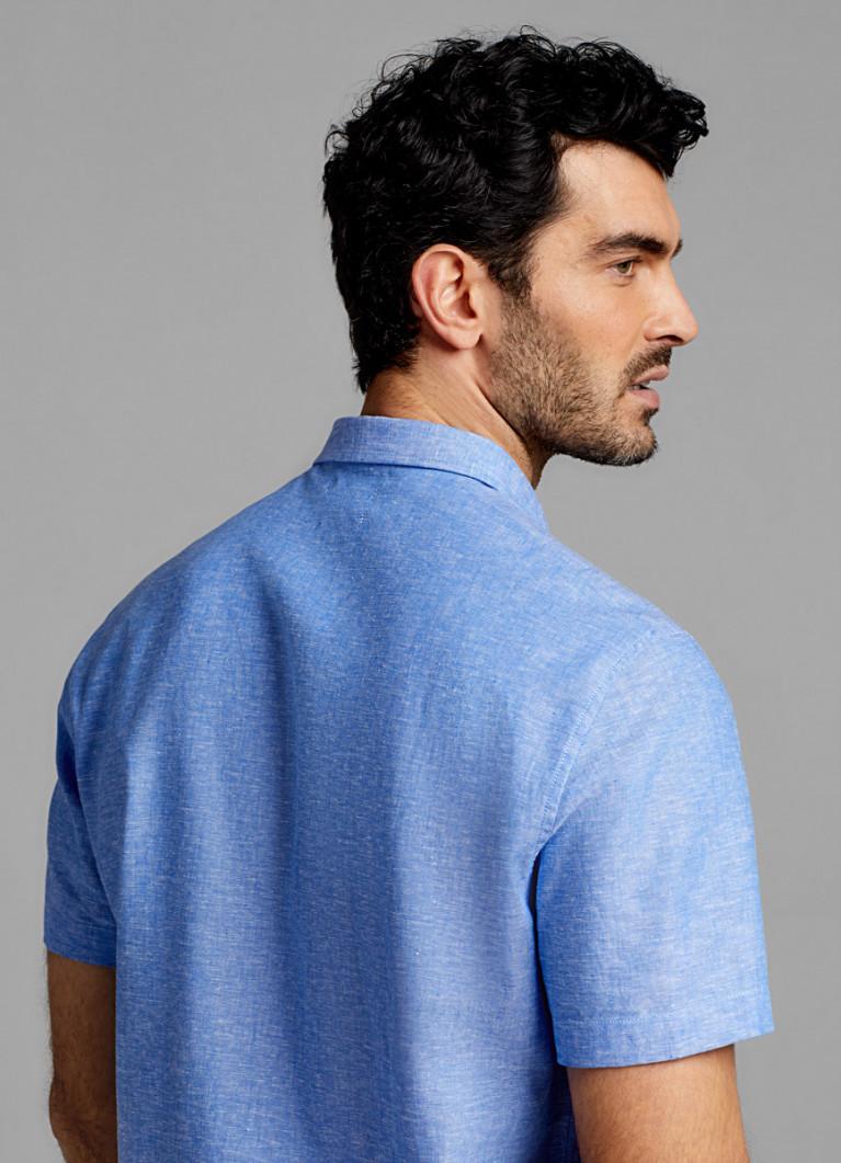 Рубашка из льняной ткани