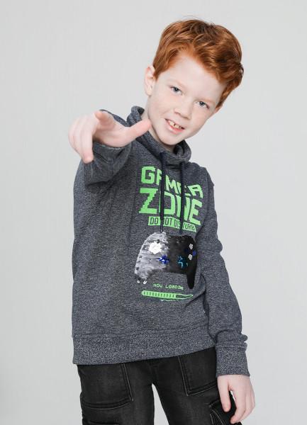 Трикотажный джемпер для мальчиков фото
