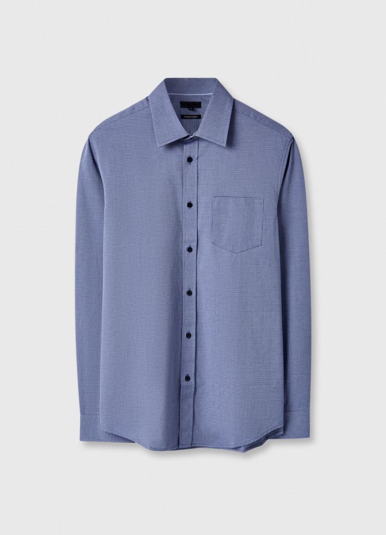 Рубашка из жаккарда