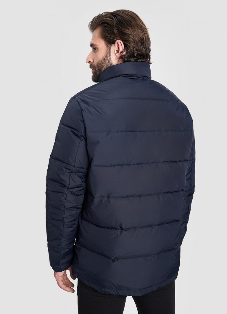 Базовая куртка с  воротником-стойкой