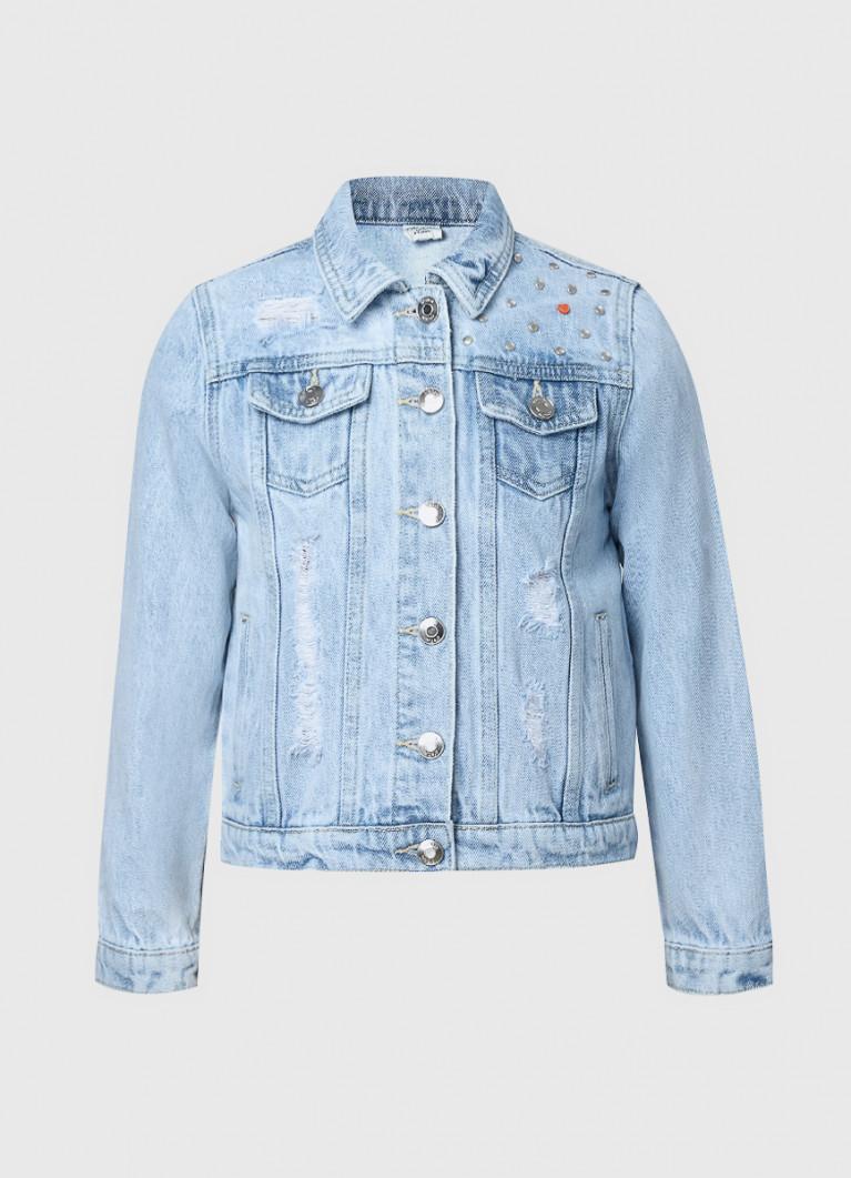Джинсовая куртка для девочек