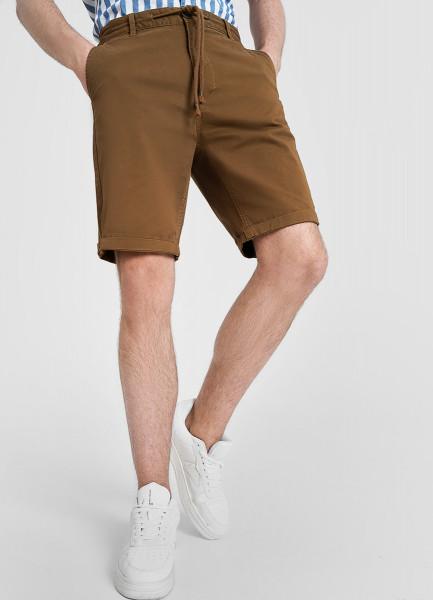 Однотонные шорты Chino с завязками