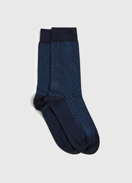 Классические носки с жаккардом фото
