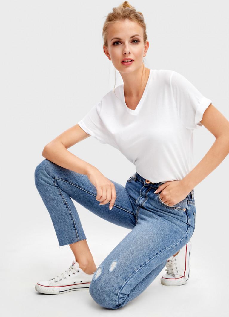 джинсы mom fit отзывы
