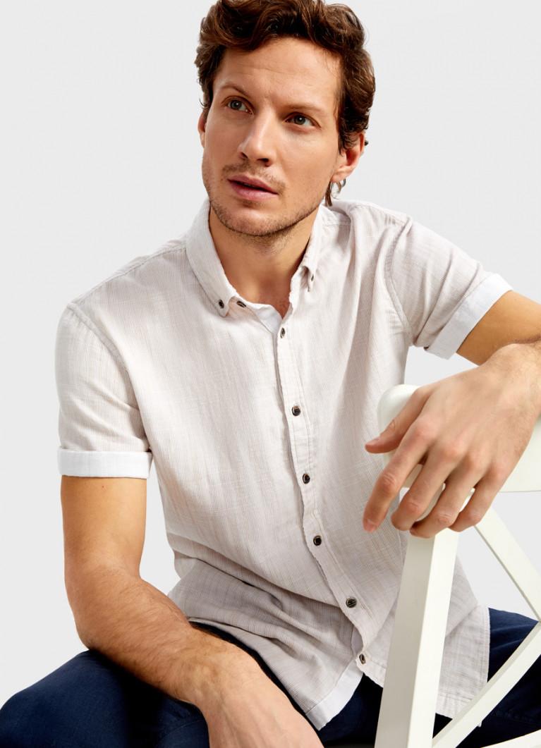 Рубашка из двухслойного хлопка