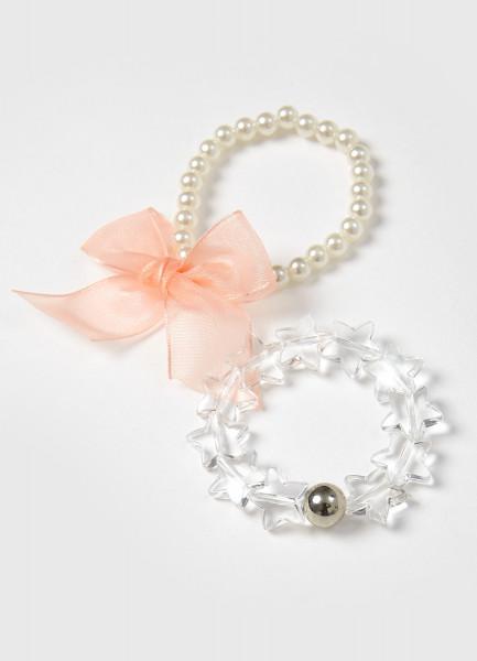 Комплект из 2-х браслетов для девочек