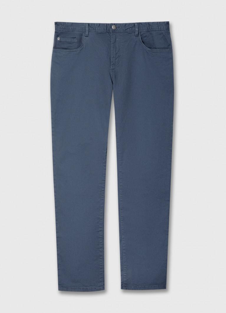 Базовые брюки «5 карманов» из твила