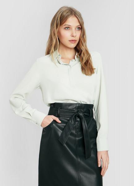 Блузка из крепового полиэстера