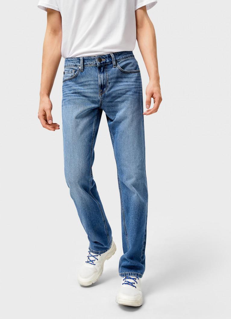 Мужские джинсы O'Stin Базовые прямые джинсы