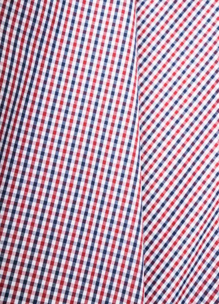 Базовая рубашка в клетку