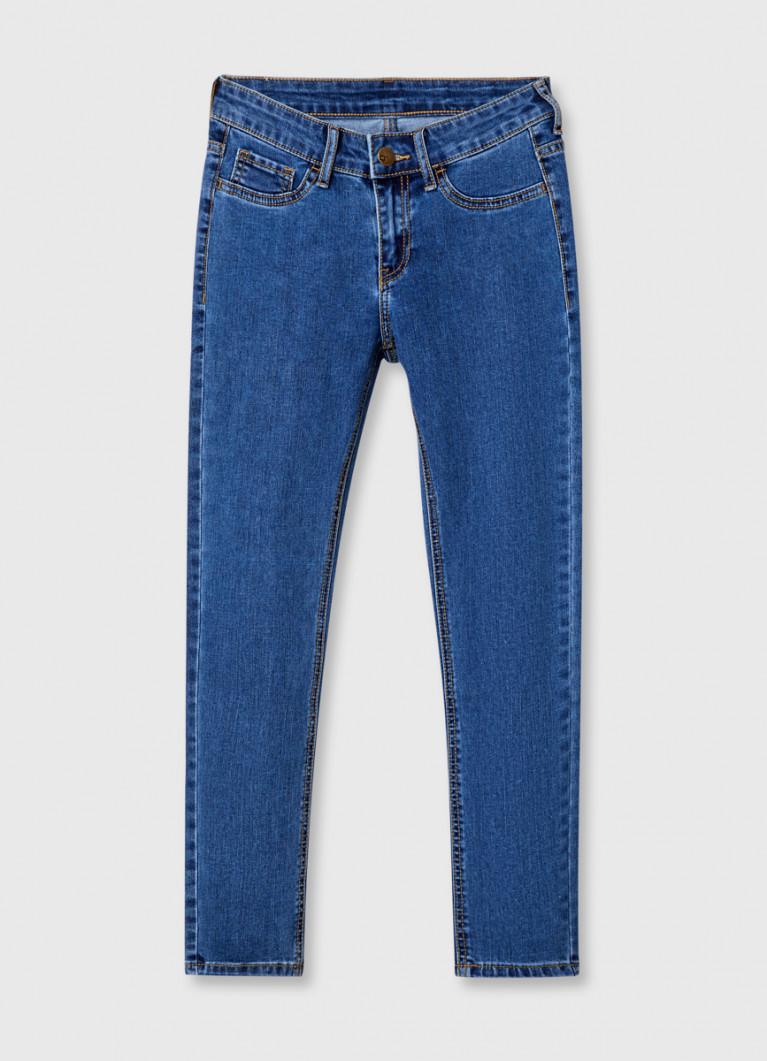 Базовые суперузкие джинсы