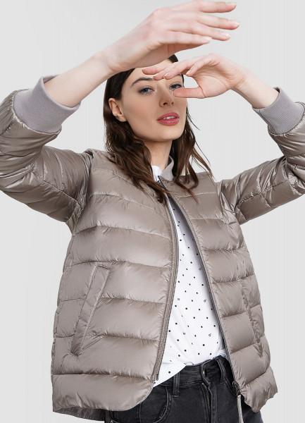 Короткая ультралёгкая куртка