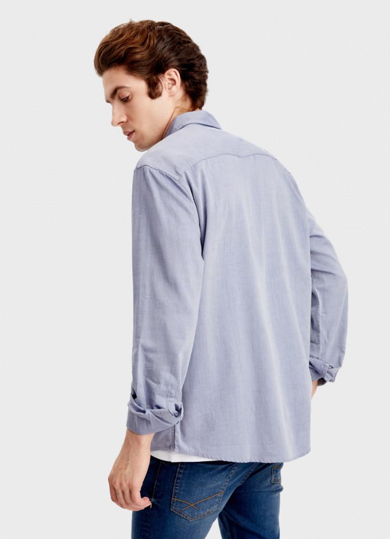 Рубашка из твила