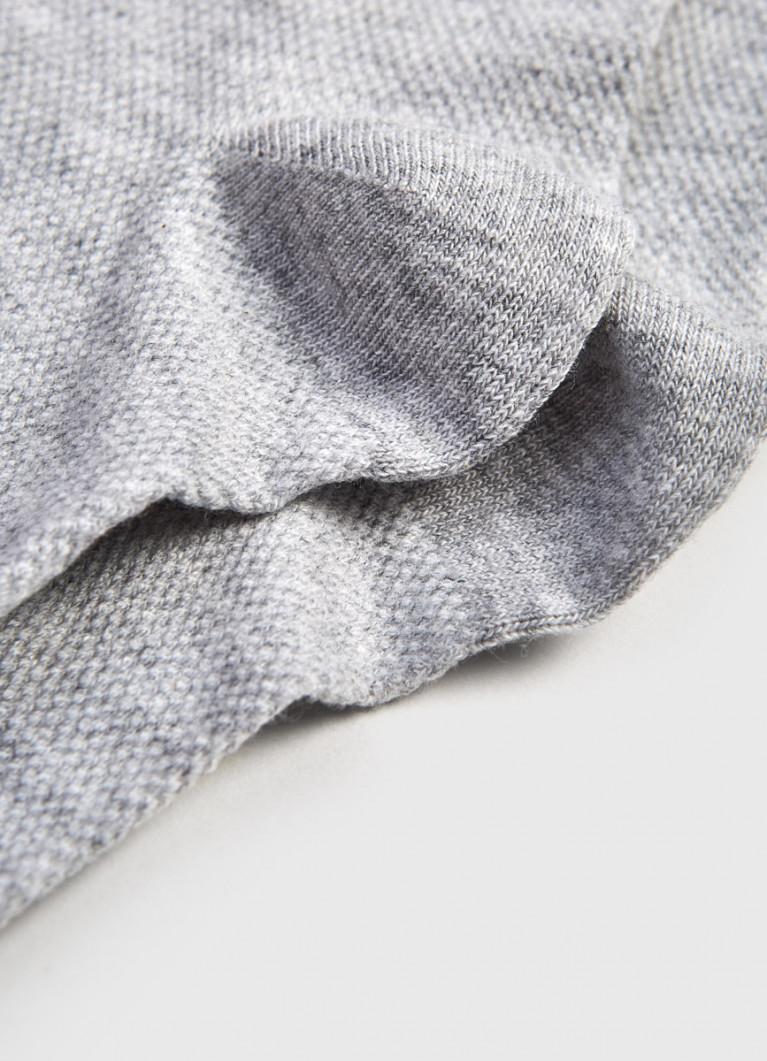 Носки в сеточку с люрексом